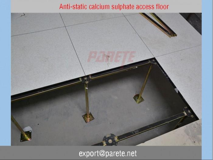 23-Calcium sulphate access floor computer room floor