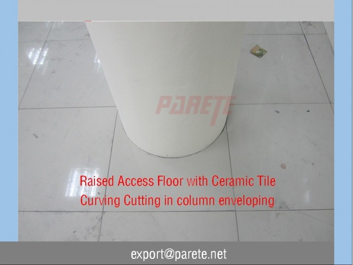 AF-7-Calcium sulphate access floor with ESD ceramic tile