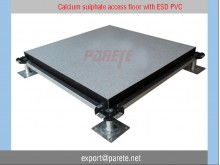 AF-8-Calcium sulphate access floor with anti static PVC covering