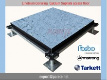 AF-9-Calcium suphate access floor system with linoleum