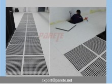 VF-5-Steel Ventilation access floor (38% Ratio)