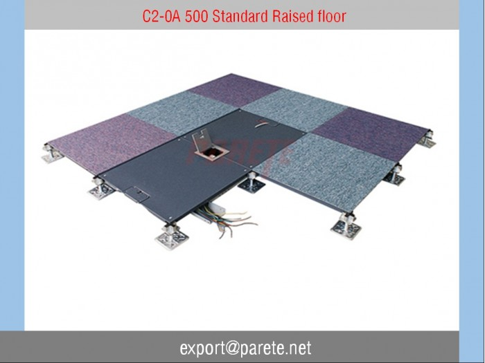C2-0A 500 Raised floor with independent support