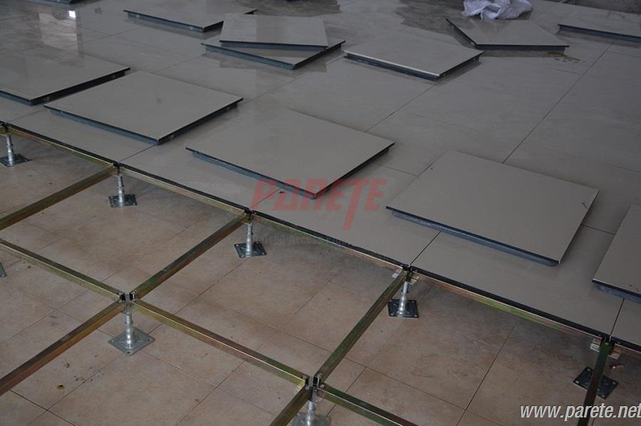 ceramic tile raised flooring panels