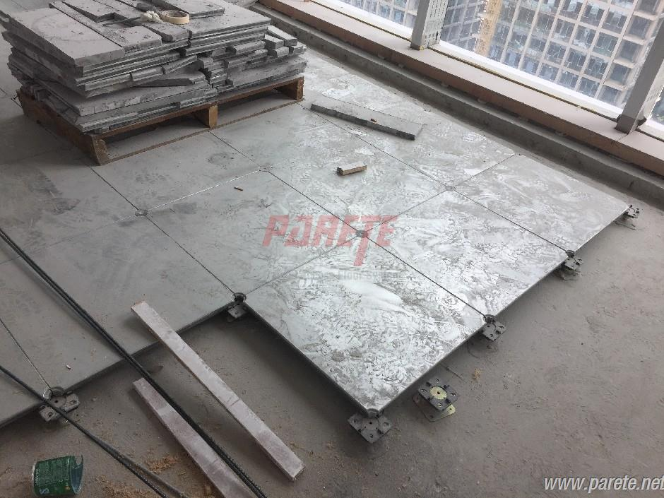 Project-PF Commercial Center-GRC raised floor