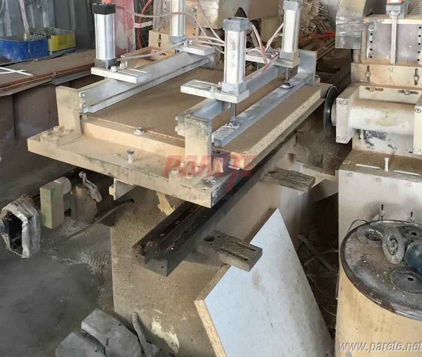 wood core access floor cutting