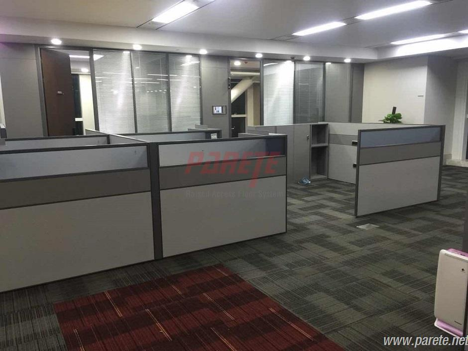 office raise floor installation