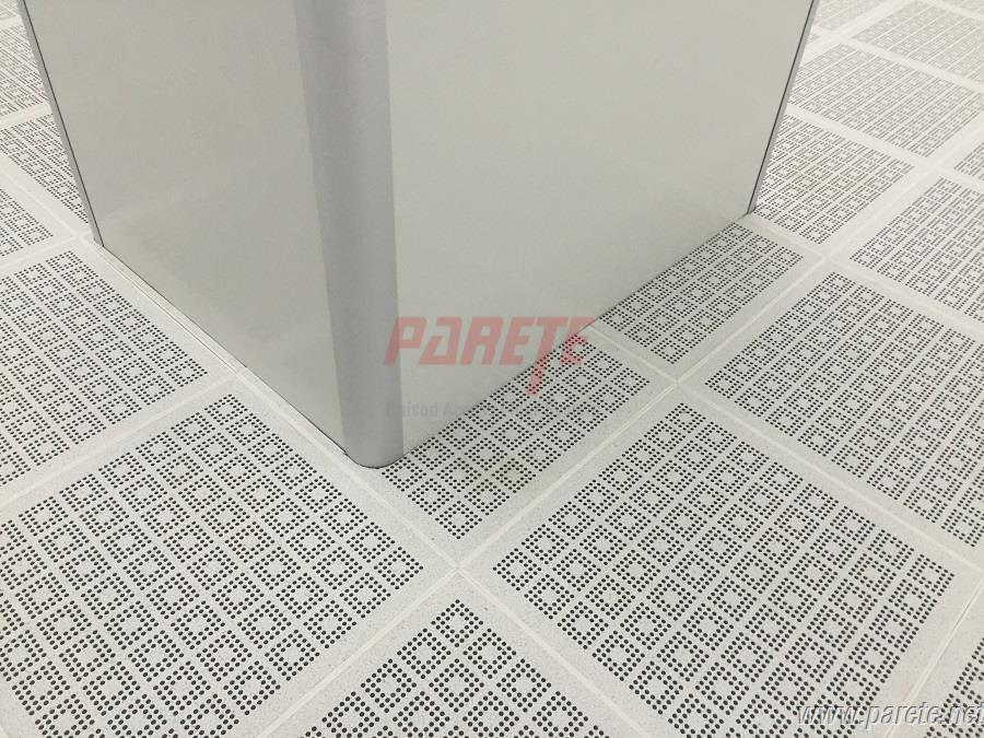 ventilation access floor with esd pvc